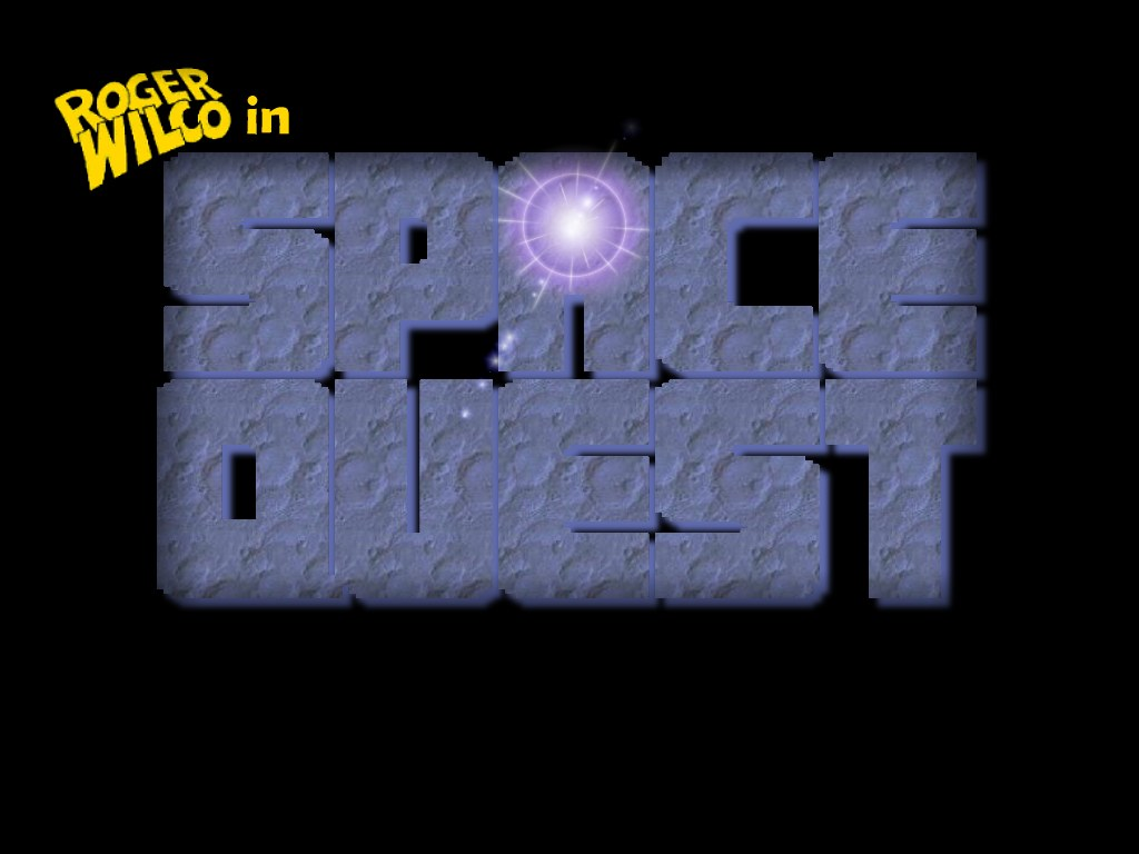 Space Quest Wallpaper Space Quest Logo Wallpaper Based on the Space Quest EGA logo